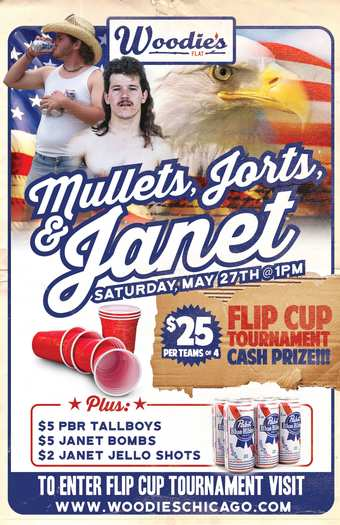Mullets, Jorts & Janet Flip Cup Tournament