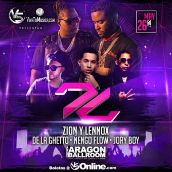 Zion y Lennox - Motivan2 Tour - Chicago