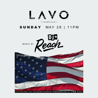 Memorial Day Bash at LAVO