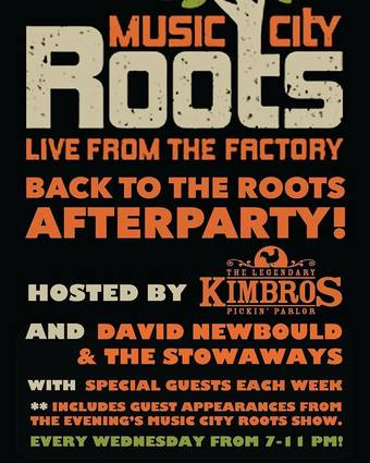 Music City Roots AfterParty w/ David Newbould and Special Guests