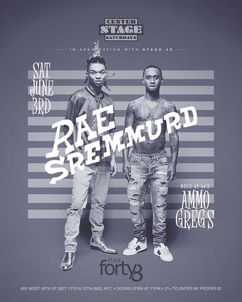 Rae Sremmurd Live at Stage 48 June 3RD