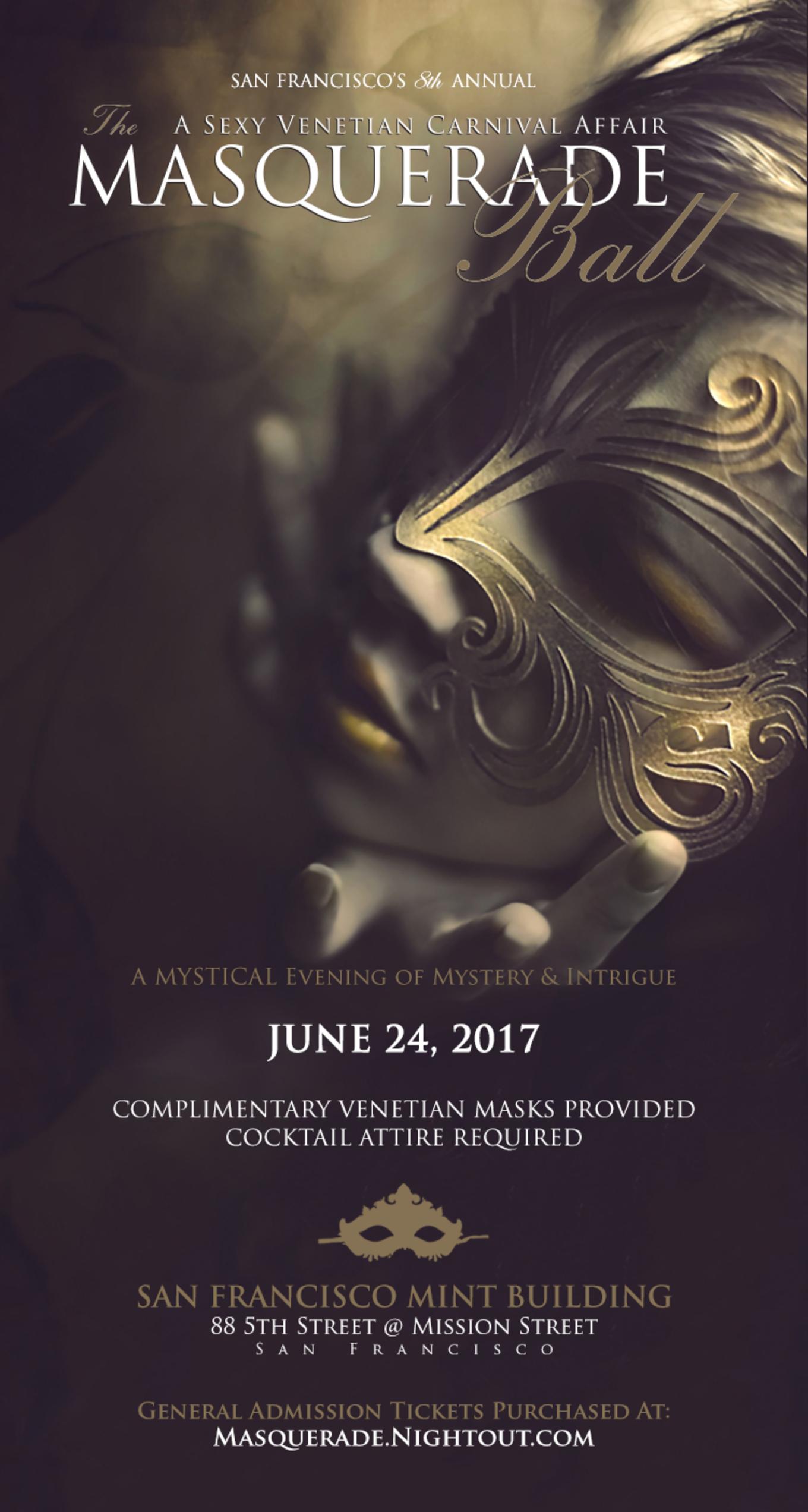 The Masquerade Ball A Sexy Venetian Carnival Affair 8th Annual