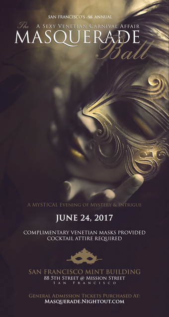 The Masquerade Ball: A Sexy Venetian Carnival Affair (8th Annual)