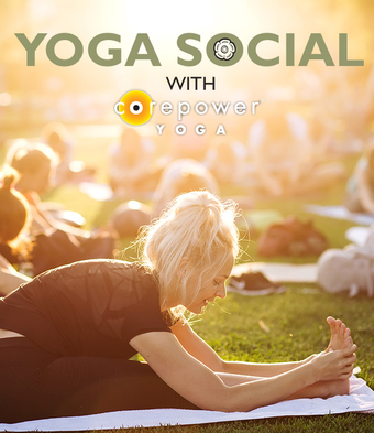 Summer Yoga Social with Corepower Yoga