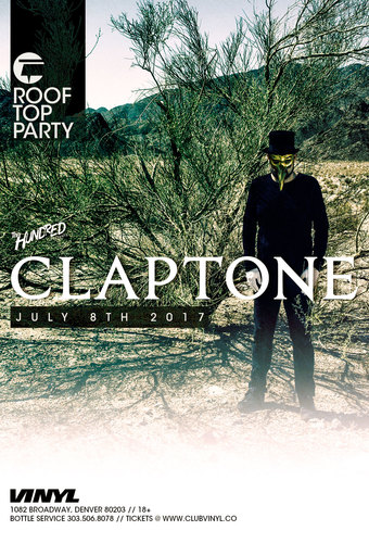 Claptone Rooftop Party
