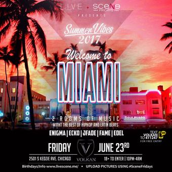 Miami Nights - Summer Kick Off 18+