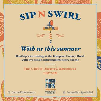 July Sip N' Swirl on the Rooftop at Canary!