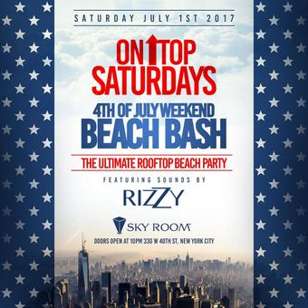 Forth of July Weekend Beach Bash