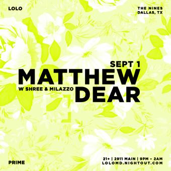 LoLo Ft. Matthew Dear / Audion