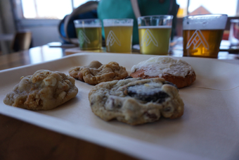 Good Sugar Baking Cookie & Beer Pairing at Ratio Beerworks