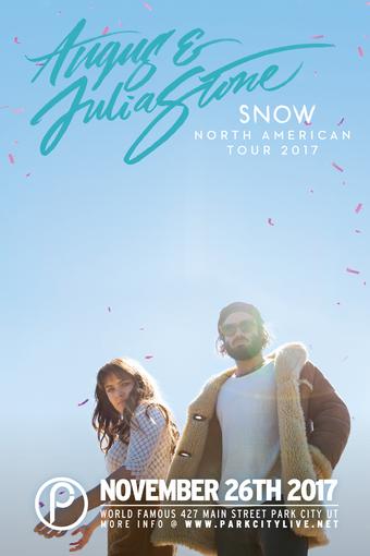 Angus & Julia Stone – Snow US Tour