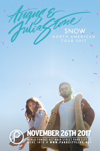 Angus & Julia Stone – Snow US Tour
