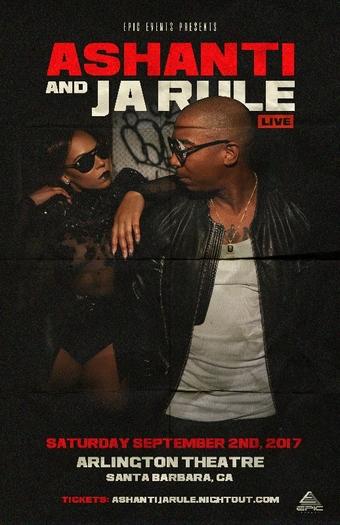 Ashanti & Ja Rule | Arlington Theatre | Santa Barbara
