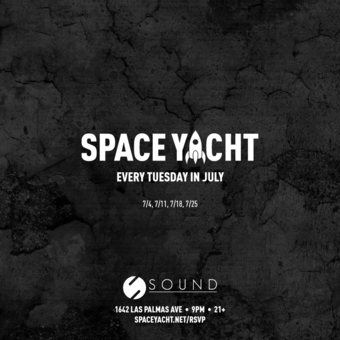 SPACE YACHT 7/18