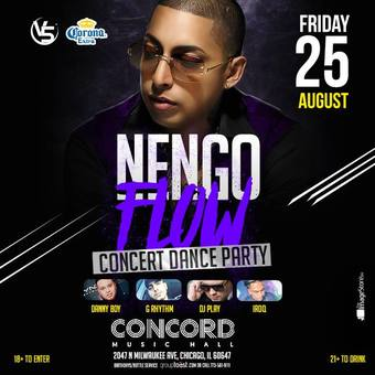 Ñengo Flow - Transit Nightclub