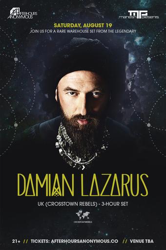 Damian Lazarus - The Warehouse - AA/MP