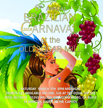 6th Annual Brazilian Carnaval at the Old Sugar Mill