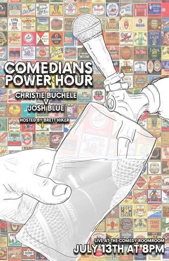 Josh Blue at Comedians' Power Hour Denver