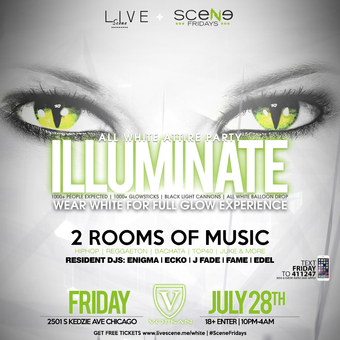 Illuminate - All White Attire Party (18+)