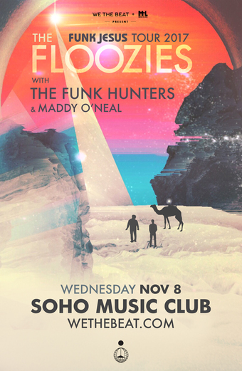 The Floozies: Funk Jesus Tour 2017 - Santa Barbara, CA