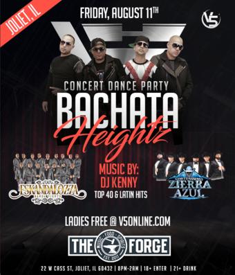 Banda vs. Bachata Ft: Bachata Heightz - Joliet, IL