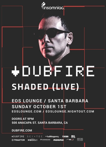 Insomniac Presents: Dubfire + Shaded Live Date TBD