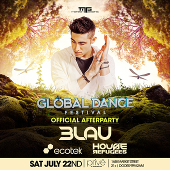 Official Global Afterparty feat. 3LAU w/ Ecotek & House Refugees