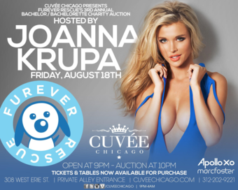 Furever Rescue's Annual Bachelor/Bachelorette Charity Auction Hosted by Joanna Krupa