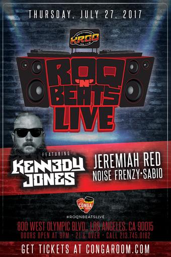 The World Famous KROQ 106.7 presents ROQ N BEATS LIVE w/ Jeremiah Red