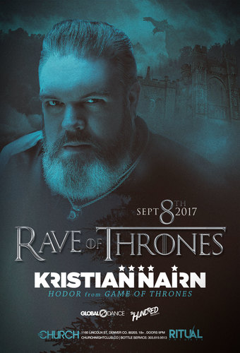Rave of Thrones: Kristian Nairn
