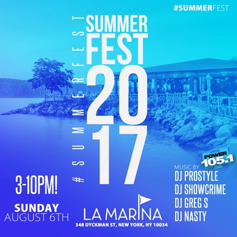 #SummerFest 2017 at La Marina 8/6