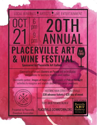 20th Annual Placerville Art & Wine Festival