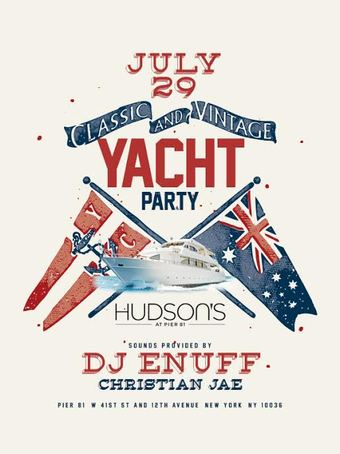 Classic and Vintage Yacht Party 7/29
