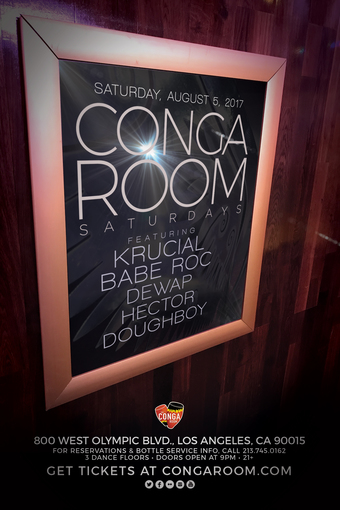 Conga Room Saturdays