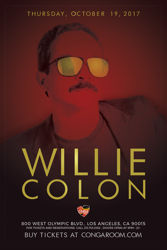 Conga Room presents Willie Colon