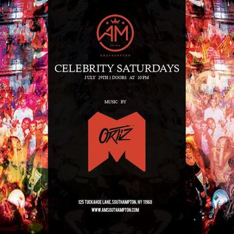 Celebrity Saturdays at AM Southampton 7/29