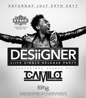 Desiigner at Stage 48 Saturday 7/29