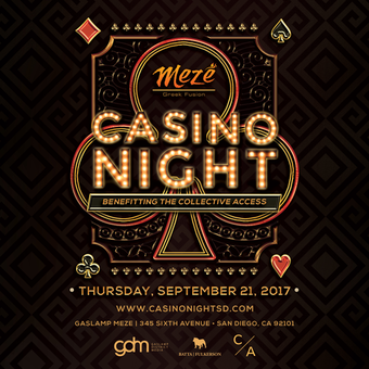 Charity Casino Night & Poker Tournament