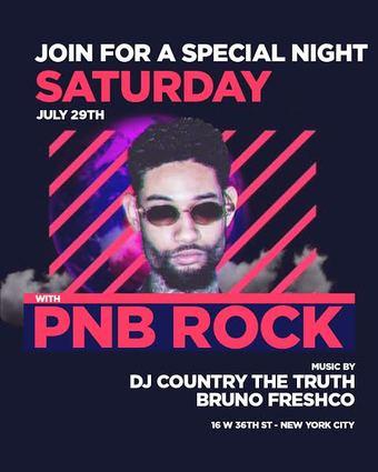 PNB Rock at Mission this Saturday 7/29