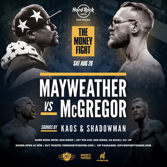 Mayweather vs McGregor Viewing Party