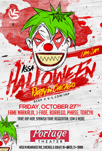 Issa Halloween Costume Party @ Portage (18+)