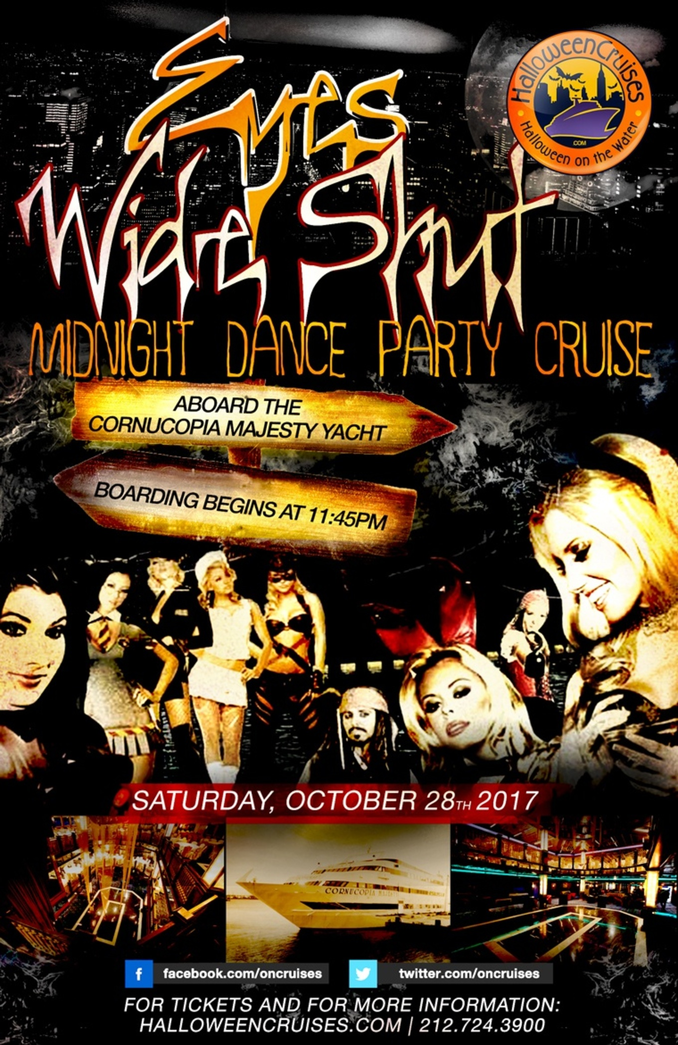 Saturday Night Party Cruise On The Hudson - Tickets - Hornblower ...