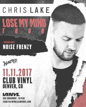 Chris Lake - Lose My Mind Tour