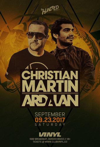 Christian Martin and Ardalan