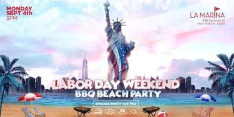 Labor Day BBQ Beach Party At La Marina