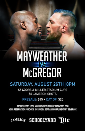 Mayweather vs. McGregor Fight at Schoolyard!