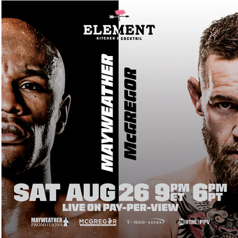 Mayweather-McGregor Fight Viewing Party