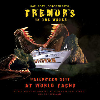 Tremors in the Water World Yacht Night