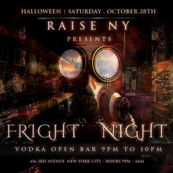Halloween Fright Night at Raise NY