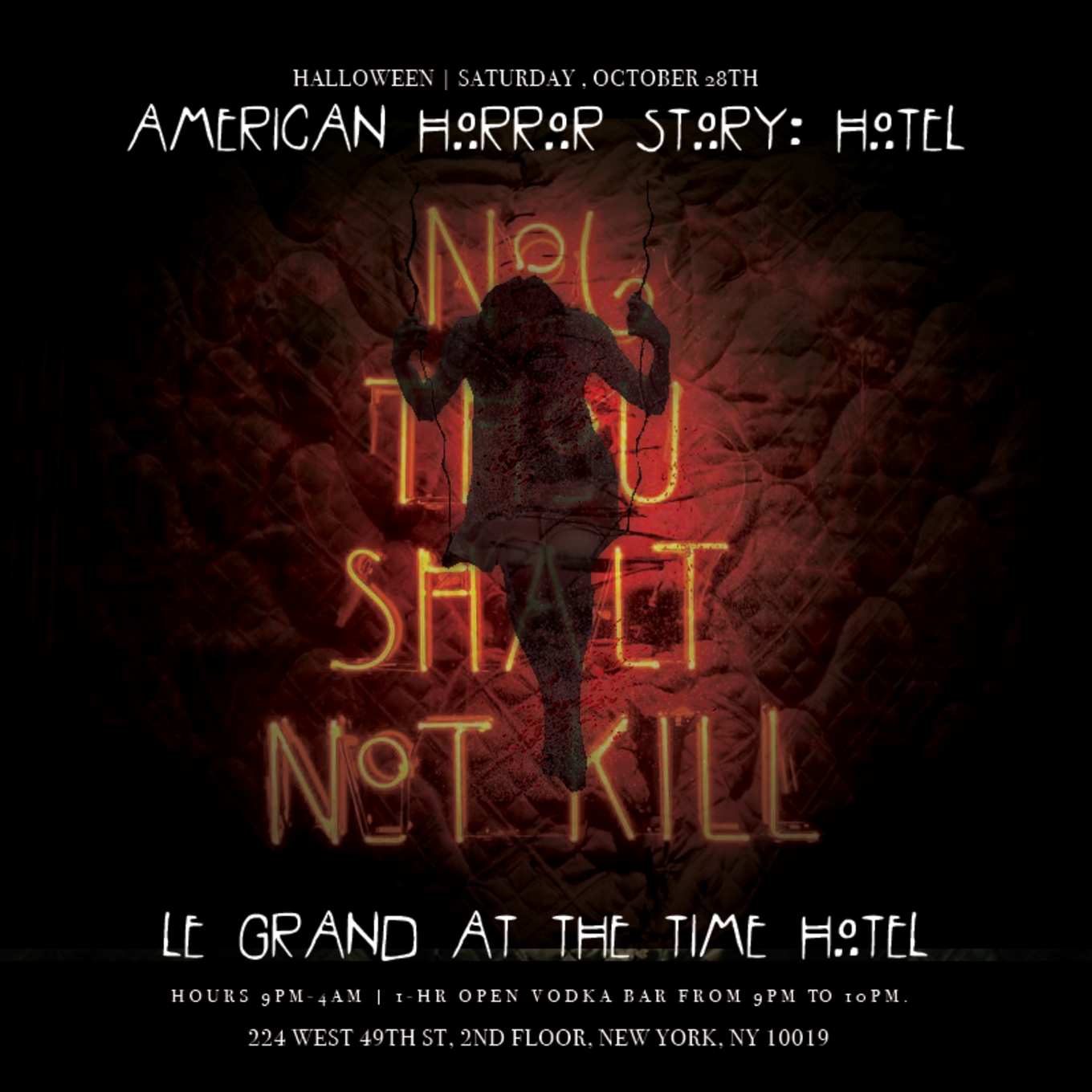 American Horror Story: Time Hotel - Tickets - The Time New York ...